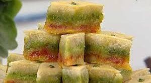 باقلوا سنتی سه رنگ