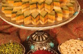 شیرینی باقلوا قزوین